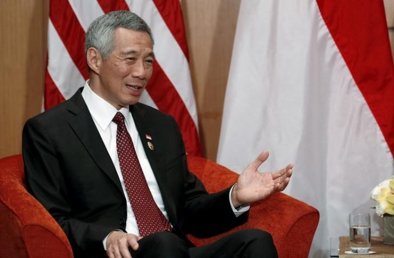 Singapore Prime Minister Lee Hsien Loong. Credit: Reuters