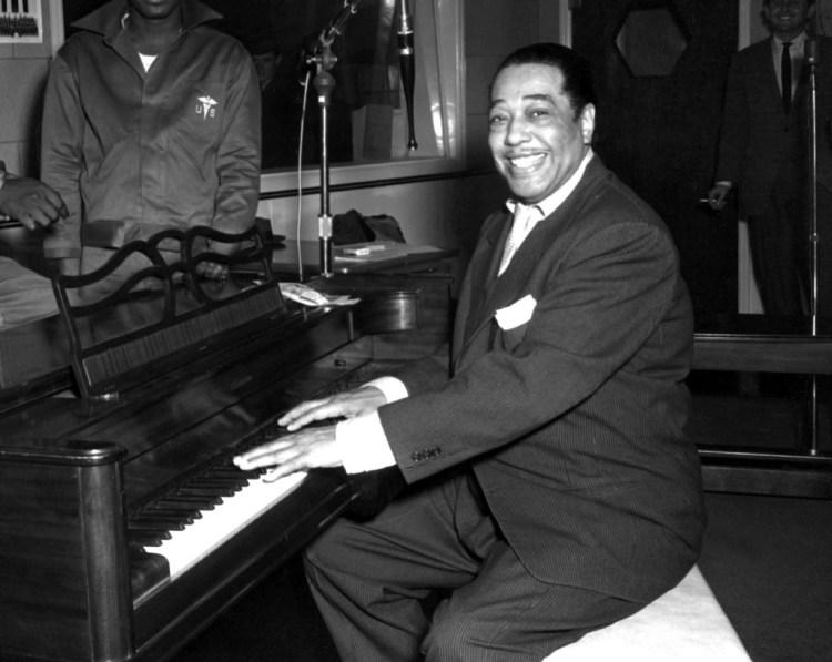 Duke Ellington at his piano in 1954. Credit: Wikimedia Commons