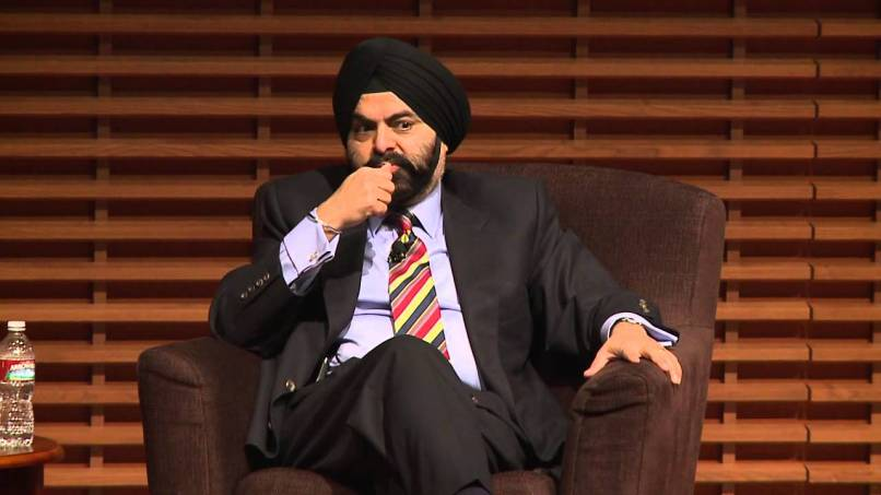Ajay Banga, CEO of MasterCard and newly appointed member of the Commission on Enhancing Cybersecurity. Credit: Youtube