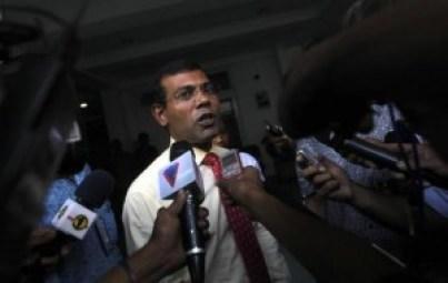 File photo of former Maldivian president Mohamed Nasheed. Credit: REUTERS/Dinuka Liyanawatte