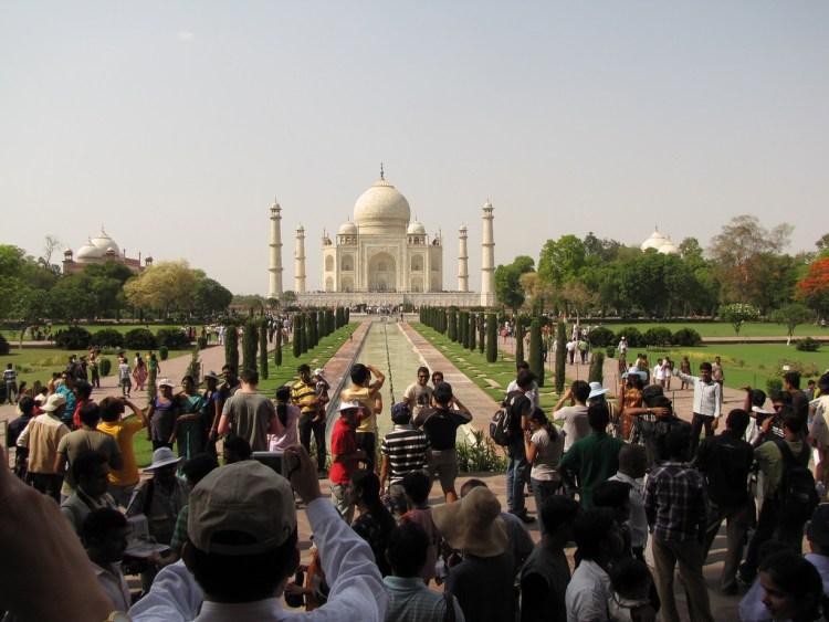 The Taj Mahal. Credit: friarsbalsam/Flickr, CC BY 2.0