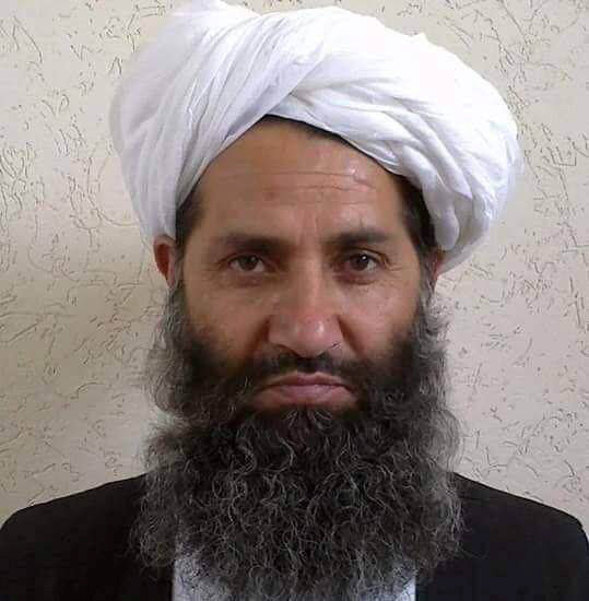 Taliban new leader Mullah Haibatullah Akhundzada is seen in an undated photograph, posted on a Taliban twitter feed on May 25, 2016, and identified separately by several Taliban officials, who declined be named. Credit: Reuters