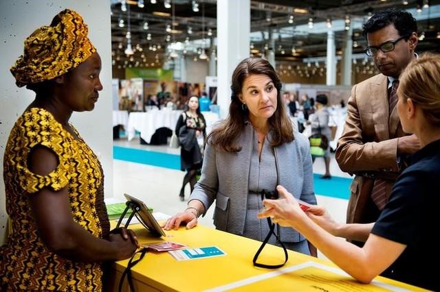 Melinda Gates, co-founder of the Bill & Melinda Gates Foundation, participates in Women Deliver, a major women's health and rights conference in Copenhagen, Denmark, May 17, 2016. Credit: Scanpix Denmark/Liselotte Sabroe/via Reuters