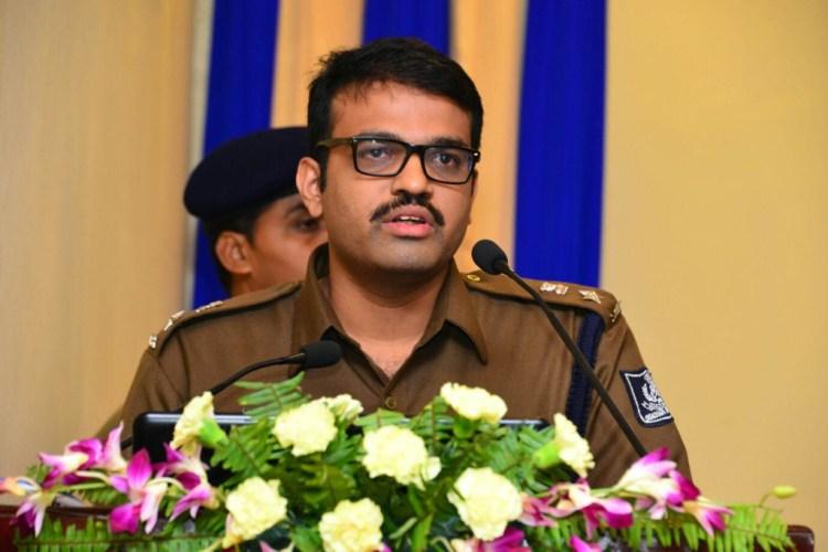 Mitrabhanu Mahapatra, Superintendent of Police, Malkangiri district Odisha.