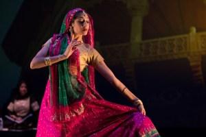 Farah Yasmeen Shaikh in performance. Credit: Farah Yasmeen Shaikh