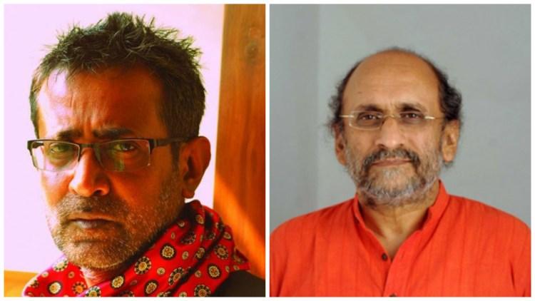 Subir Ghosh (L) and Paranjoy Guha Thakurta. Credit: Twitter and paranjoy.in.