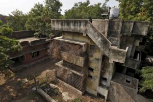 Gulberg Society after the massacre. Credit: Reuters/Amit Dave