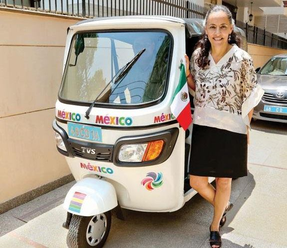 Melba Pria, ambassador of Mexico to India. Credit: Embassy of Mexico