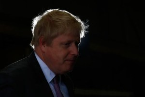Former mayor of London and Vote Leave campaigner Boris Johnson speaks during a visit to Reid Steel on a campaign stop in Christchurch, Britain, May 12, 2016. Credit: Reuters/Darren Staples