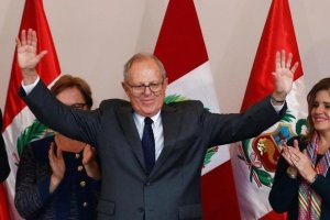 Pedro Pablo Kuczynski in his headquarters in Lima, Peru, June 9, 2016. Credit: Reuters/Mariana Bazo