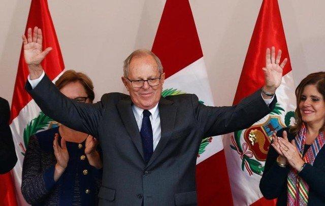 Pedro Pablo Kuczynski in his headquarters in Lima, Peru, June 9, 2016. Credit: Reuters/Mariana Bazo