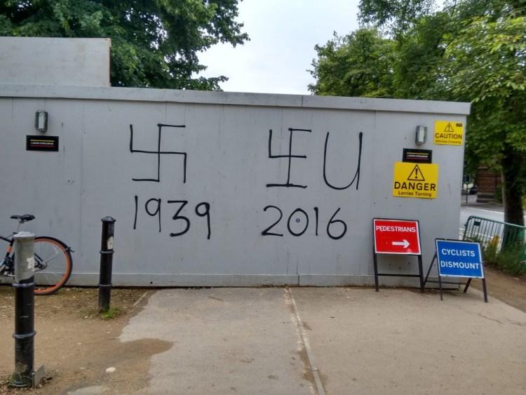 Graffiti in Oxford. Credit: Rajdeep Pakanati