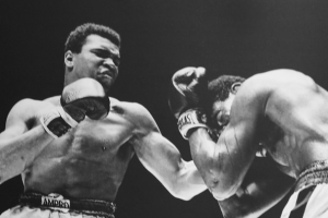 Muhammad Ali vs. Ernie Terrell, Houston Astrodome, 1967. Credit: Cliff/Flickr CC BY 2.0