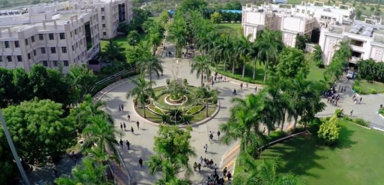 Parul University campus. Credit: paruluniversity.ac.in