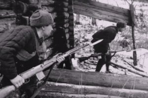Soviet soldiers during Operation Barbarossa, 1941. Source: YouTube