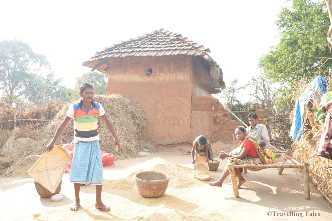 Labourers, back home in Jharkhand. Source: Anu Sabhlok's blog