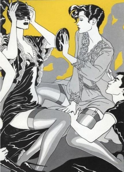 Antonia Lopez. Image courtesy http://www.theloupe.org/2012/02/antonio-lopez-fashion-illustrator1943-1987/