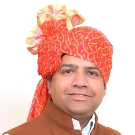 Aam Aadmi Party MLA Dinesh Mohaniya.