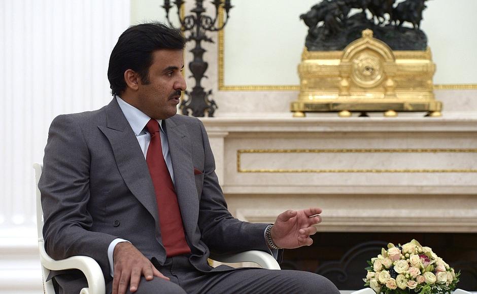 File photo of Emir of Qatar, Tamim bin Hamad al Thani