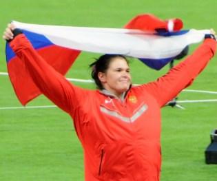 Darya Vitalyevna Pishchalnikova London 2012. Credit: Wikimedia