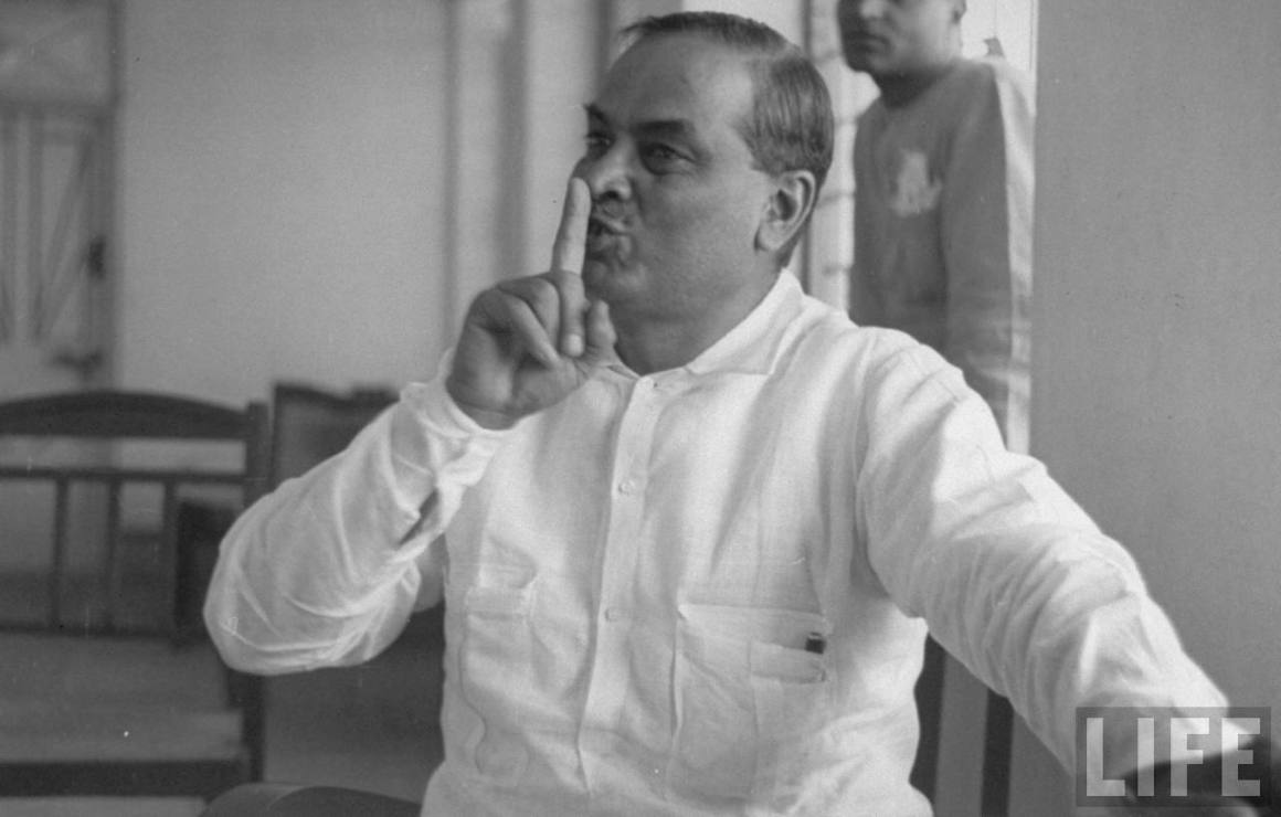 Dr. Bidhan Chandra Roy, 1943. Credit: Wikimedia Commons