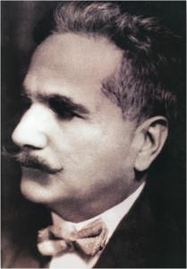 Muhammad Iqbal. Credit: Wikipedia