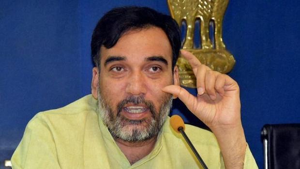 Delhi labour minister Gopal Rai. Credit: PTI
