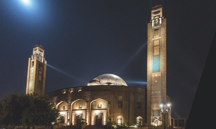 Jamia Mosque in Lahore's Bahria Town. Credit:Saad Sarfraz Sheikh/Herald
