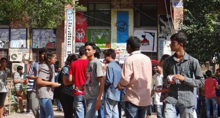 JNUSU elections Credit: Rajesh Mishradyfi/Facebook