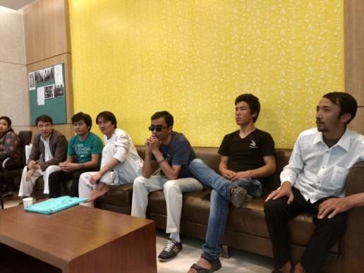 July 23 blast survivors at Max Super Smart Speciality hospital. Credit: Devirupa Mitra