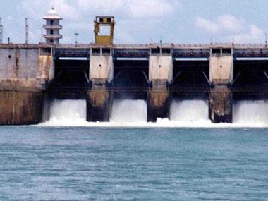 File photo of Cauvery barrage in Karnataka. Credit: Reuters