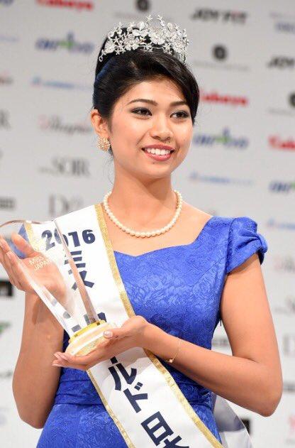 Miss Japan Priyanka Yoshikawa. Credit: Twitter