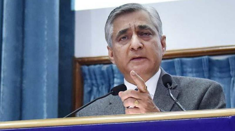 Chief Justice of India T.S. Thakur. Credit: PTI