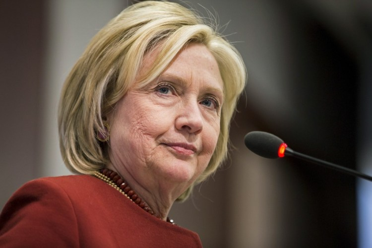 Hillary Clinton. Credit: Reuters