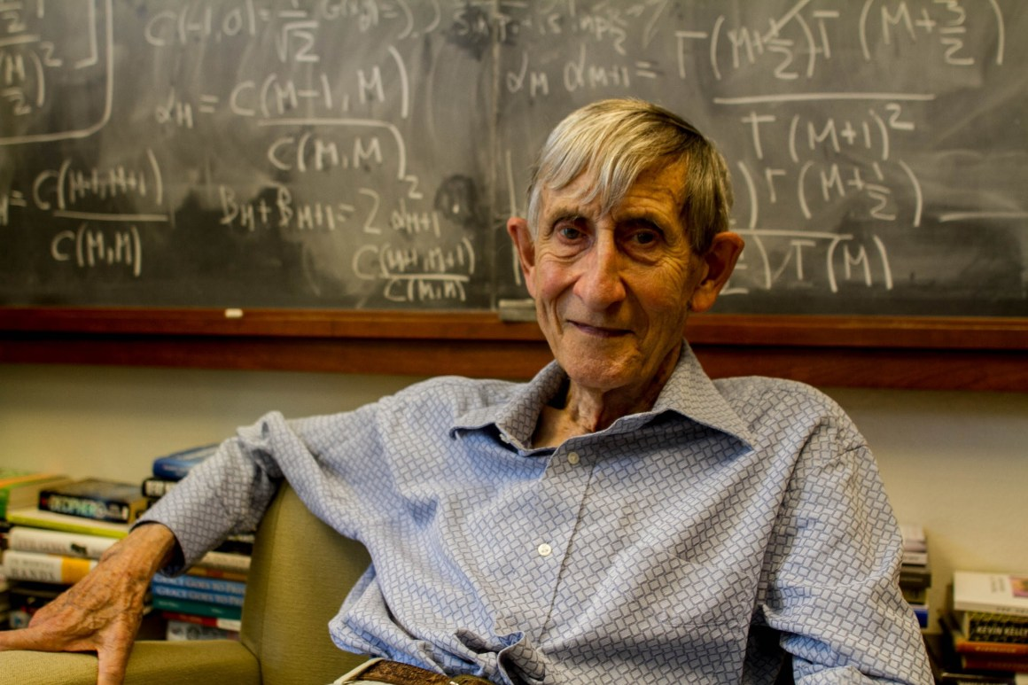 Freeman Dyson. Source: YouTube
