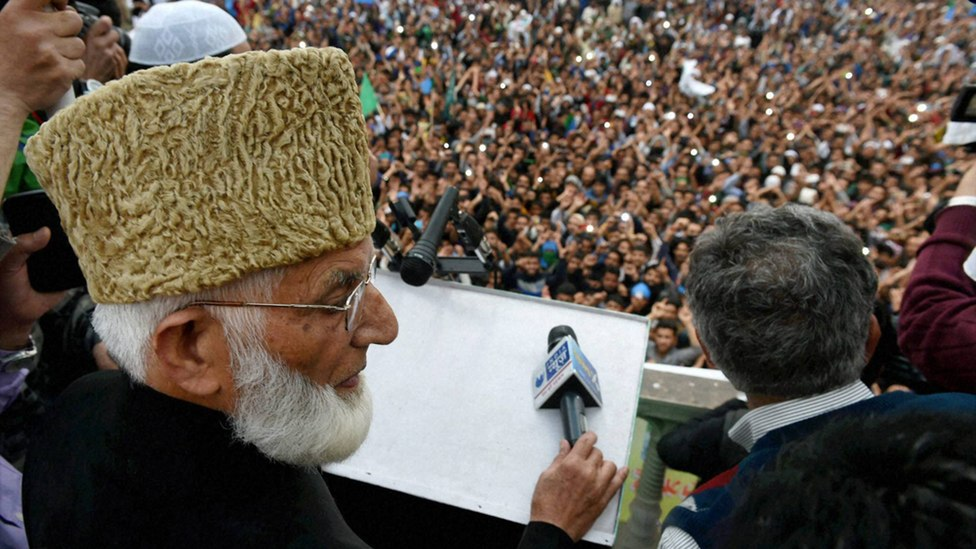 File photo of Hurriyat leader Syed Ali Shah Geelani. Credit: PTI