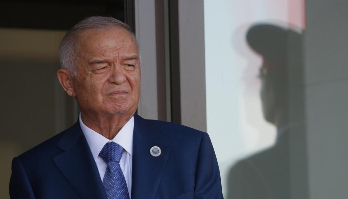 File photo of Uzbek president Islam Karimov, who died on Friday. Credit: Reuters