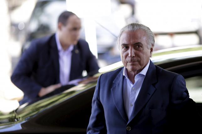 Brazilian President Michel Temer. Credit: Reuters/Ueslei Marcelino