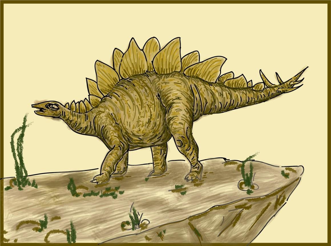 A stegosaurus. Credit: Ita Mehrotra