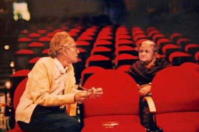 Tanvir and Moneeka Misra. Courtesy: Nageen Tanvir/Naya Theatre