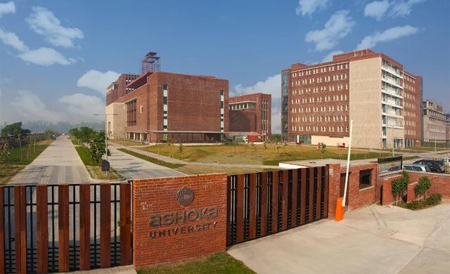 Ashoka University. Credit: Wikimedia Commons