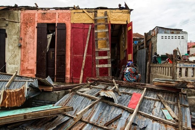 Clean up from Hurricane Matthew continues in Jeremie, Haiti, October 6, 2016.Credit: Logan Abassi, courtesy of UN/MINUSTAH/Handout via Reuters