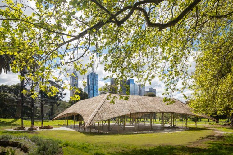 Bijoy Jain-designed Pavilion. Credit: John Gollings