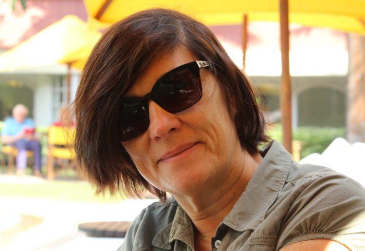 French film director Catherine Corsini. Credit: Niladri Chatterjee