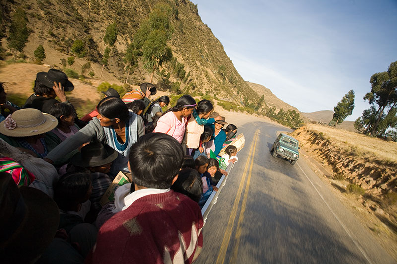 Truck from Tarabuco to Sucre, Bolivia. Credit: Szymon Kochański/Flickr CC BY-NC-ND 2.0