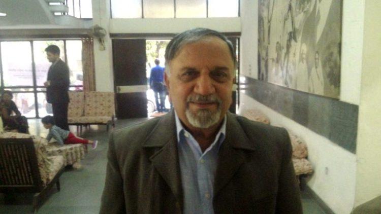 RTI activist and former Information Commissioner Shailesh Gandhi. Credit: Gaurav Vivek Bhatnagar