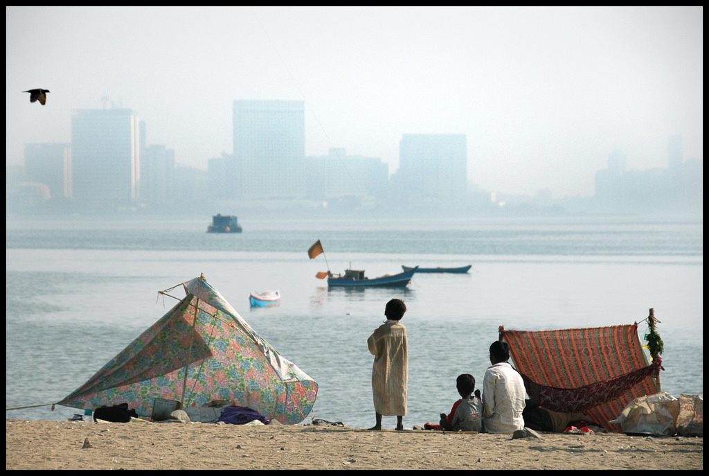 A view of Chowpatty beach, Mumbai. Credit: Shreyans Bhansali/Flickr CC BY-NC-SA 2.0