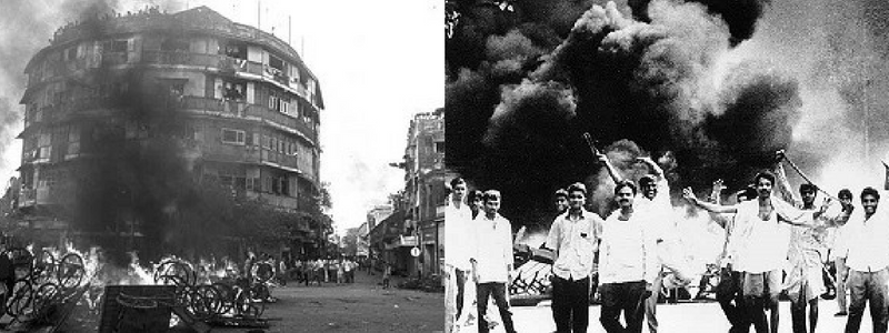 Bombay riots. Courtesy: IndianExpress/Tehelka
