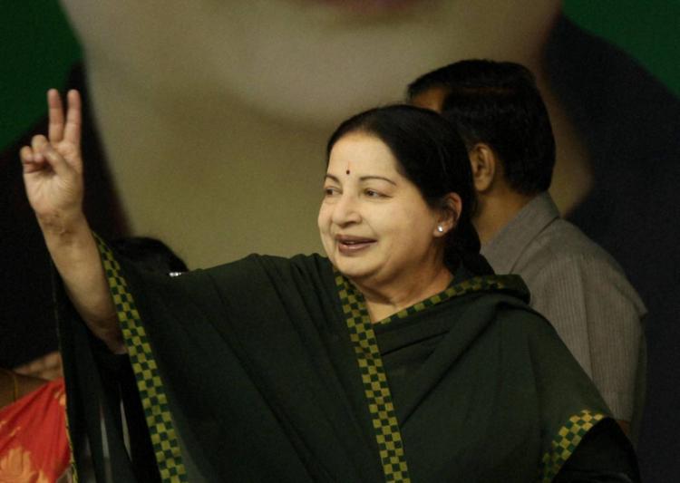 J. Jayalalithaa. Credit: PTI