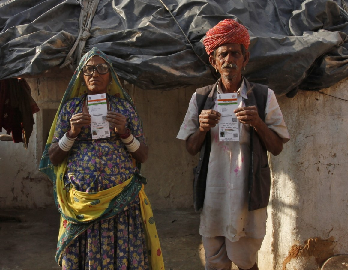 How safe is the data collected for Aadhaar cards? Credit: Reuters/Mansi Thapliyal